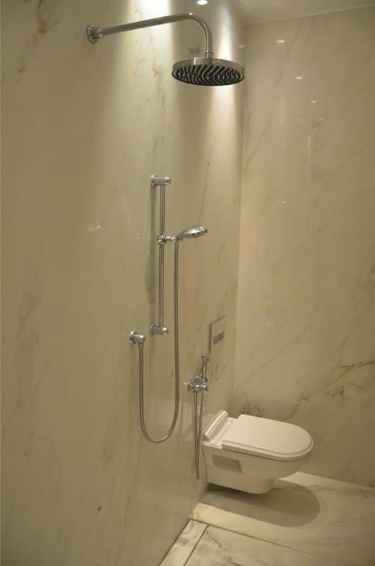 Calacatta Crema Cream Marble Bathroom Floor Wall Cladding