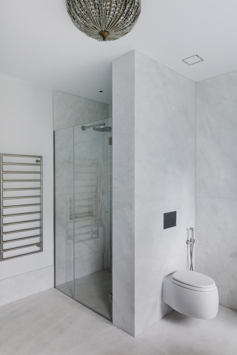 Calacatta Special Marble Patternmatched Bookmatched Honed Bathroom Walls Floors London 2