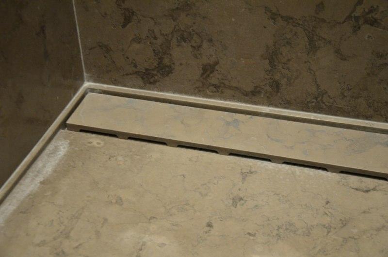 Corcvado Brazillian Limestone Shower Tray Bathroom