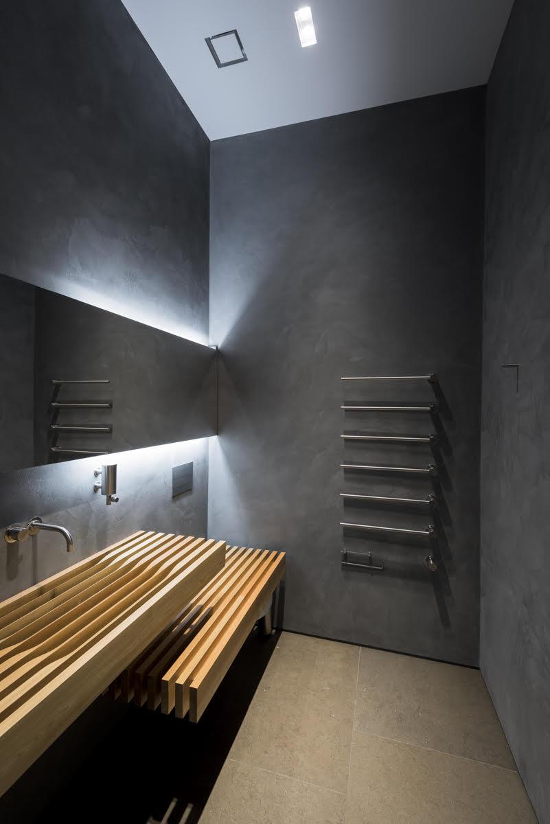 Limestone Bathroom Floor Honed Brown London 4
