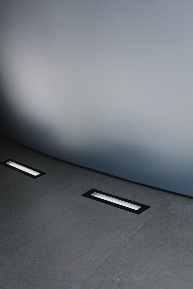 Limestone Floor Tile London Green Brown With Integrated Lights 3
