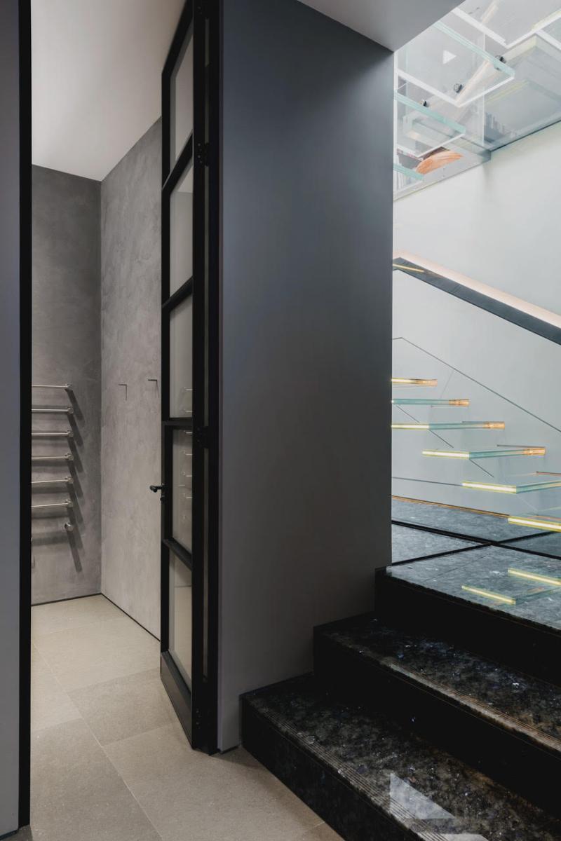 Madagascar Granite Steps Stairs Floor Sparkle London