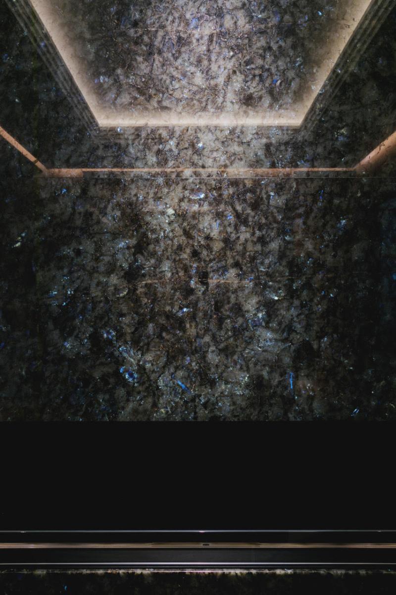 Madagascar Granite Water Feature Floor London