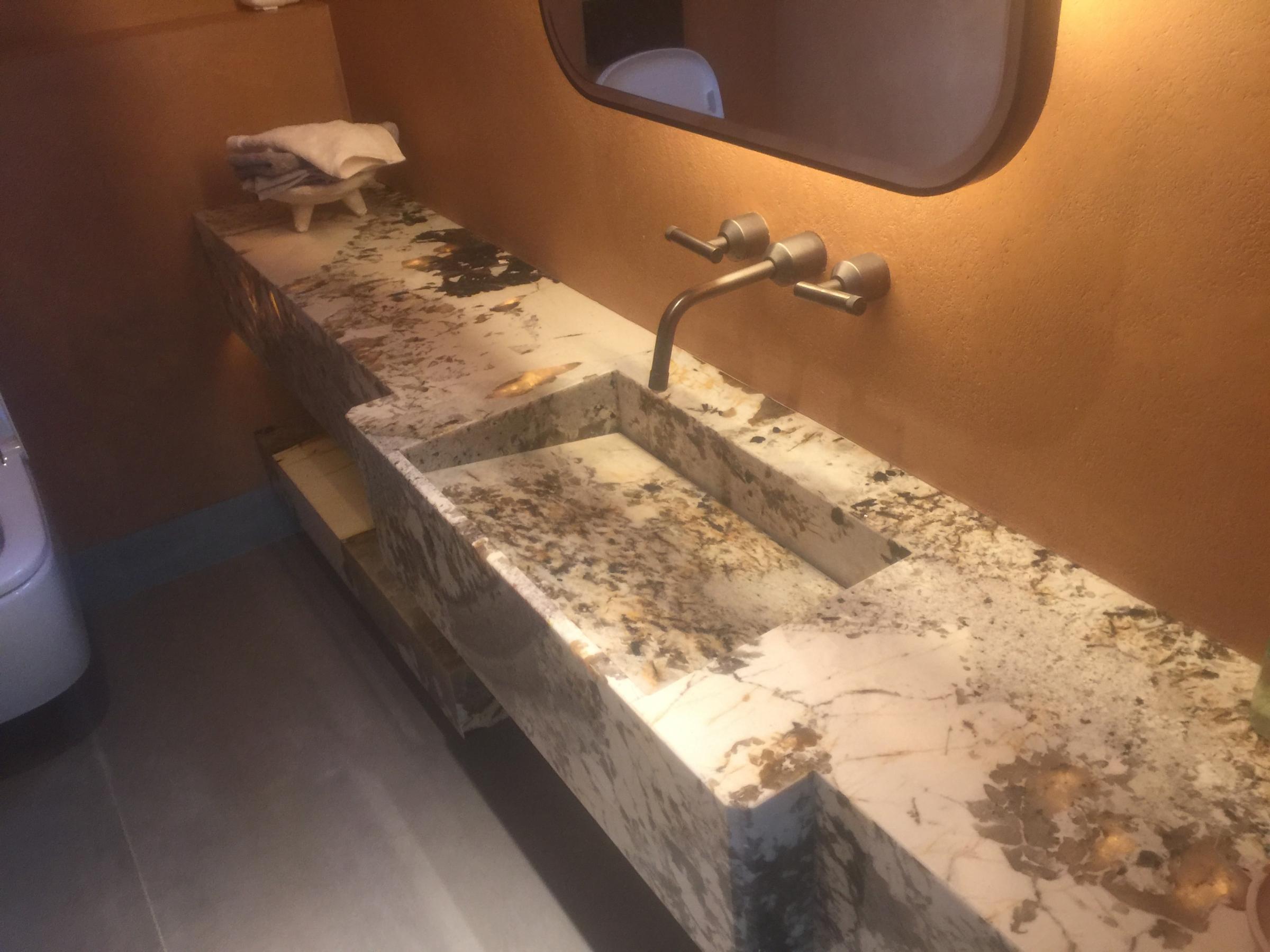 Onyx Bathroom Vanity Countertop Sink London