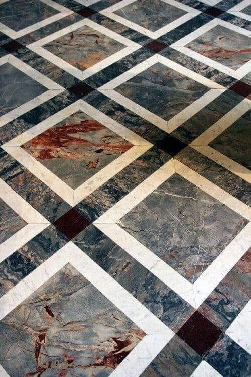 Onyx Marble Multicoloured Floor