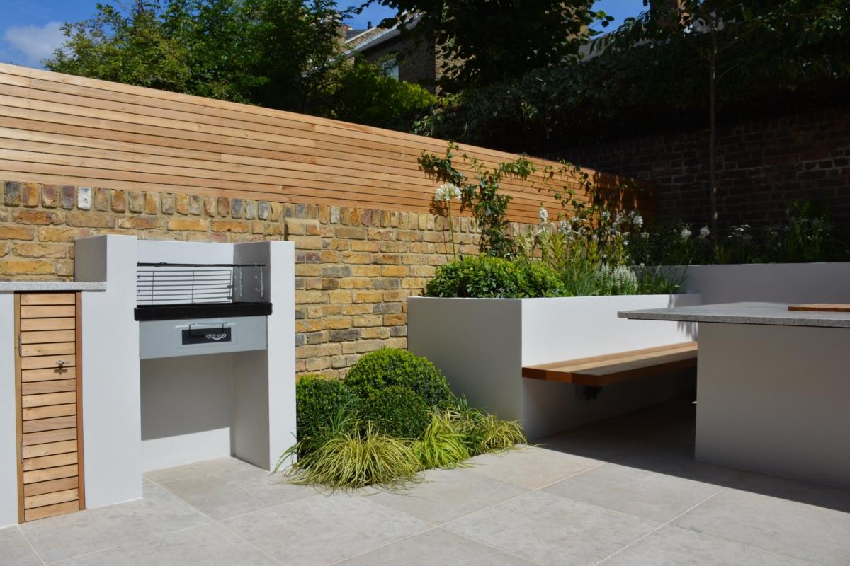 Porcelain Patio Floor Tiles Garden London Bbq