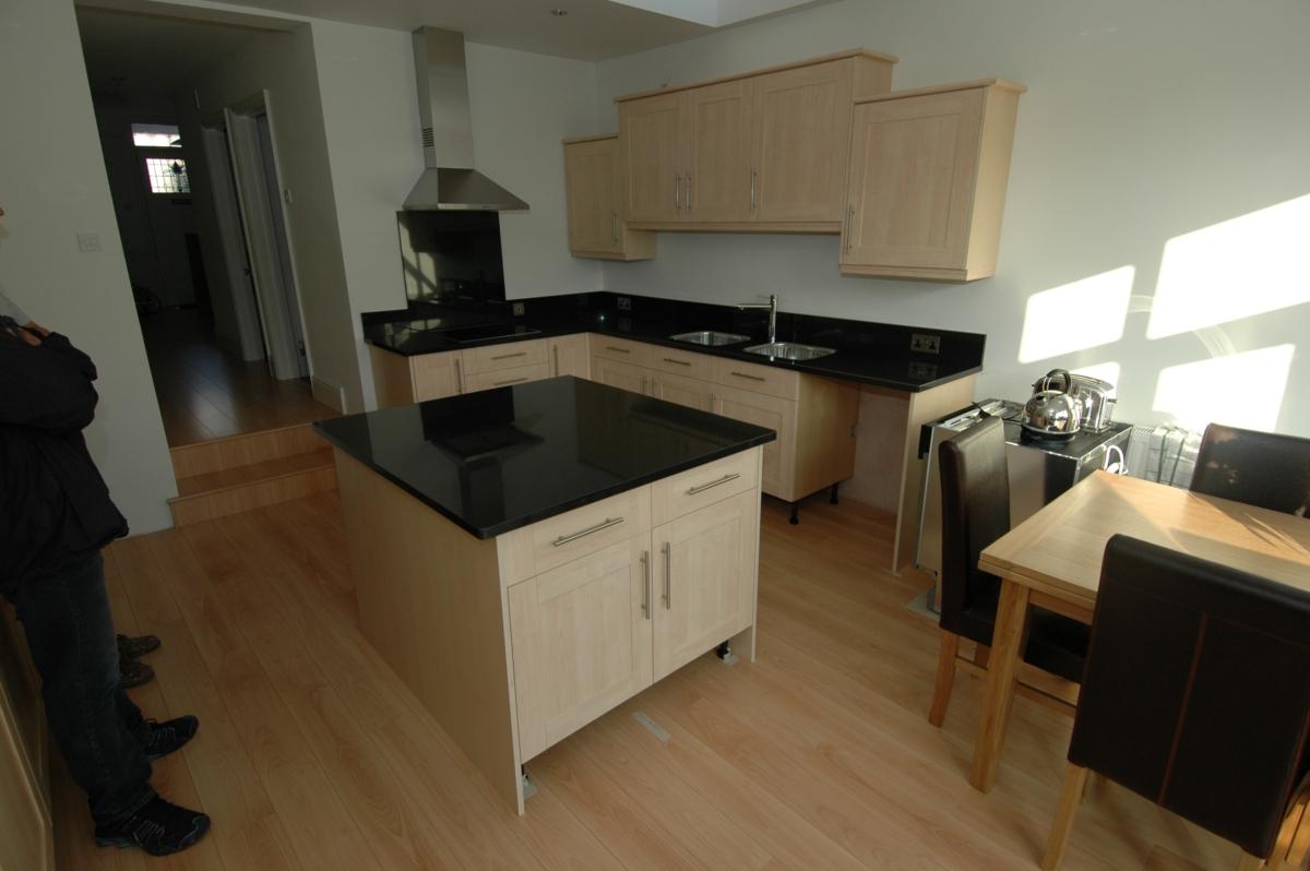 Zimbabwe Black Granite Kitchen Worktop Island London
